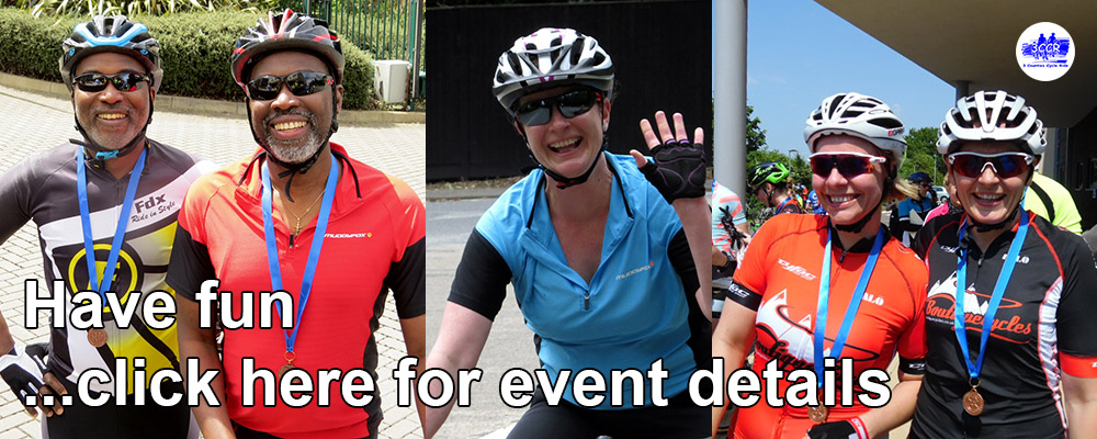 Get Details for the Three Counties Charity Cycle Ride